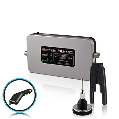 Smoothtalker #BM53MSPC Mobile X2 Pro-53db Wireless Vehicle Cellular Signal Booster Kit for Van or RV, 2