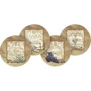 Thirstystone 4 Piece Wine Labels Occasions Coaster Set