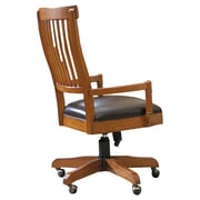 Hooker Furniture Abbott Place Office Chair; Rich Warm Cherry