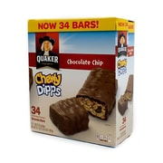 Quaker Chocolate Chip Chewy Dipps 34 Count (220-00437)