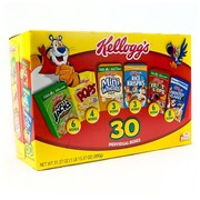 Kellogg's Cereal Assortment 30 Count (220-00448)