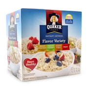 Quaker Oatmeal Flavor Variety Box 52 Count (220-00482)