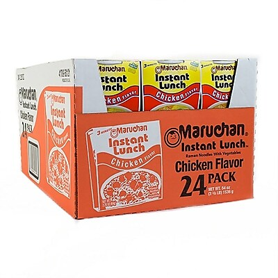 Maruchan Chicken Flavored Instant Lunch 24 Pack (220-00498) 1787228