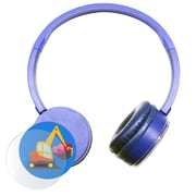HamiltonBuhl KPCC-BLU Express Yourself Headphone, Blue