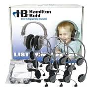 HamiltonBuhl LCB/12/MS2LV Personal Headphones, Gray