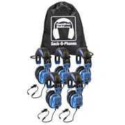 HamiltonBuhl SOP-SCAMV Personal Headsets, Blue