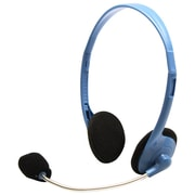HamiltonBuhl MS2G-AMV Personal Headset with Gooseneck Mic, Blue