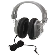 HamiltonBuhl HA7 SchoolMate Deluxe Stereo Headphone, Gray