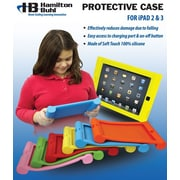 HamiltonBuhl ISD-ORG Kids Silicone Protective Case for iPad 2 or iPad 3, Orange