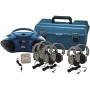 HamiltonBuhl LCP/HB100BT/6SV Val-U-Pak Listening Center for 6