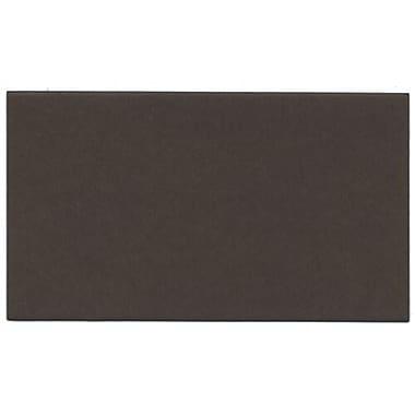 JAM PaperMD – Cartes sans texte, 2 x 3 1/2 po, brun chocolat, 500/pqt
