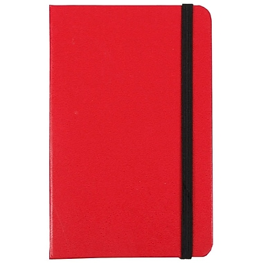 JAM Paper® Hardcover Notebook Journals w/Elastic Band Closure, 3 3/4