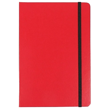JAM Paper® Hardcover Notebook Journals w/Elastic Band Closure, 5