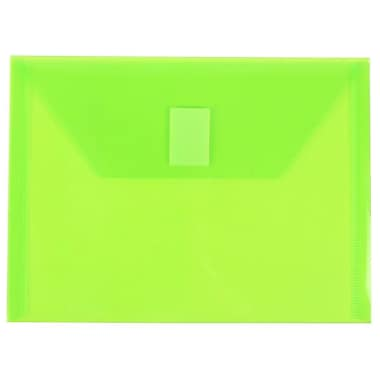 JAM Paper® Plastic Document Holder w/VELCRO® Brand Closure, 5 1/2