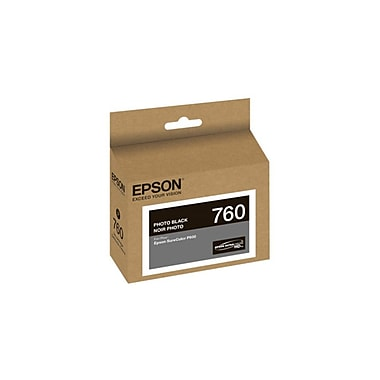 Epson 760, Photo Black Ink Cartridge (T760120)