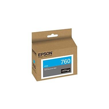 Epson – Cartouche d'encre T760220, cyan