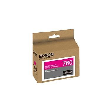 Epson T760320 Vivid Magenta Ink Cartridge