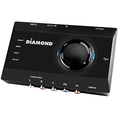 Diamond GameCaster GC2000 HD 1080P Triple Play Game Capture Box