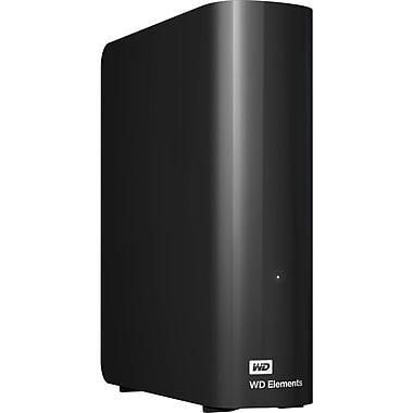 Western Digital Elements External Hard Drive, 4 TB, Black