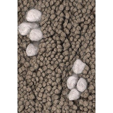 Chandra Strata Brown/White Area Rug; 5' x 7'6''