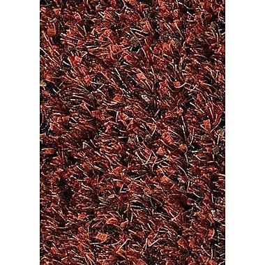 Chandra Akina Red/Black Area Rug; 7'9'' x 10'6''