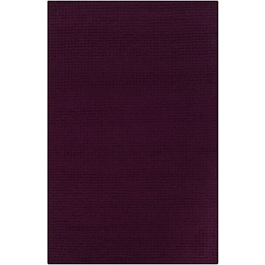Chandra Luxor Purple Area Rug; 9' x 12'