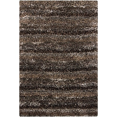 Chandra Bavaria Grey Area Rug; 3'11'' x 5'7''