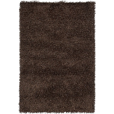 Chandra INT Dark Brown Area Rug; 5' x 7'6''
