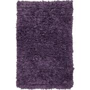Chandra Paper Shag Purple Area Rug; 1'8'' x 2'6''