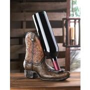 Zingz & Thingz Lucky Cowboy 1 Bottle Tabletop Boot Wine Bottle Holder