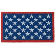 Rubber-Cal, Inc. Patriotic American Flag Doormat