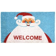 Rubber-Cal, Inc. Santa Claus is Back! Christmas Holiday Doormat
