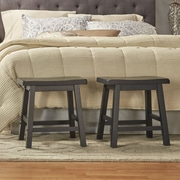 Kingstown Home Cosimo 18'' Bar Stool (Set of 2); Vulcan