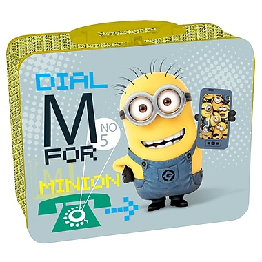 Minions Puzzle in Metal Lunch Box, 2/Pack