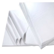 "B2B Wraps Premium Tissue Papers, White, 18 x 24"", 480 Sheets/Pack"