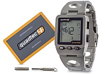 Quadtec Digital Watch, Stainless