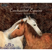 "LANG 2016 Enchanted Equine 13 3/8"" x 12"" Wall Calendar (1001856)"