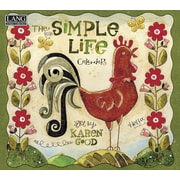 "LANG 2016 Simple Life 13 3/8"" x 12"" Wall Calendar (1001879)"