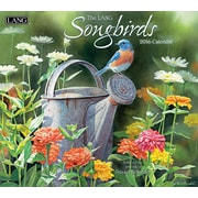 "LANG 2016 Songbirds 13 3/8"" x 12"" Wall Calendar (1001880)"