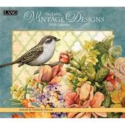 "LANG 2016 Vintage Designs 13 3/8"" x 12"" Wall Calendar (1001883)"