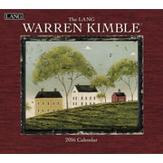 "LANG 2016 Warren Kimble 13 3/8"" x 12"" Wall Calendar (1001884)"