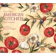 "2016 LANG American Kitchen 13 3/8""x12"" Wall Calendar (1001891)"