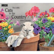 "2016 LANG Cats In The Country 13 3/8""x12"" Wall Calendar (1001899)"