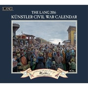 "LANG 2016 Civil War 13 3/8"" x 12"" Wall Calendar (1001901)"