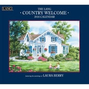 "LANG 2016 Country Welcome 13-3/8"" x 12"" Wall Calendar (1001907)"