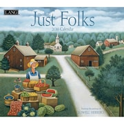 "LANG 2016 Just Folks 13 3/8"" x 12"" Wall Calendar (1001921)"