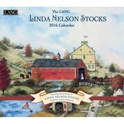 "2016 LANG Linda Nelson Stocks 13 3/8""x12"" Wall Calendar (1001924)"