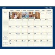 """LANG 2016 Lang Folk Art 22"""" x 17"""" Deskpad (1010023)"""