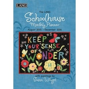 "2016 LANG Schoolhouse 8.25""x13"" Monthly Planner (1012102)"