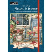 "LANG 2016 Heart & Home® 6"" x 8"" Classic Engagement Planner (1017017)"